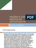 Noções e Conceitos Básicos de Antroposofia