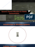 Dynamic Channel Allocation using Hopfield Networks