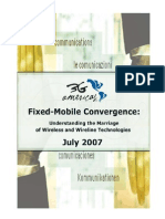 2007 3GA Convergence White Paper July23