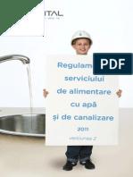 Regulamentul Serviciului de Alimentare Cu Apa Si Canalizare