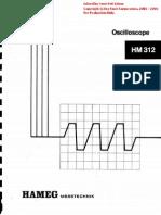 HM312 Oscilloscope