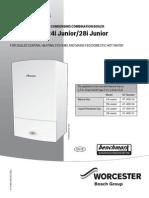 User Manual for Greenstar i Junior Manufactured From Jul 13