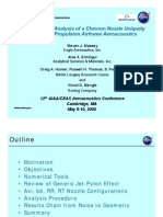 Cfd Analysis of Chevron nozzle