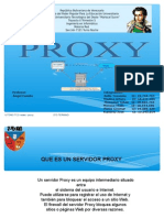 Presentacion sobre proxy