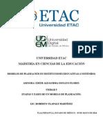Etapas y Fases de Un Modelo de Planeación 5