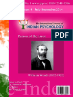 The International Journal of Indian Psychology, Volume 1-Issue-4 No. 1