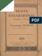 60143523 Traite d'Harmonie Theorique Et Pratique Theodore Dubois