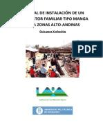 Manual de Instalación de Un Biodigestor Familiar Tipo Manga Para Zonas Alto-Andinas