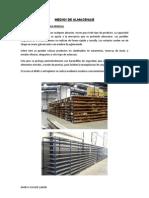 Logística I - Medios de Almacenaje