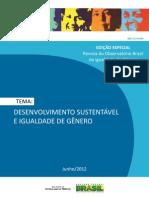 Desenvolvimento Sustentável e Igualdade de Gênero