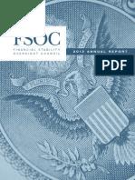 FSOC 2013 Annual Report