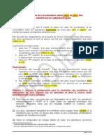 Procédure Coordination LTE-CDMA