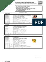 2009-10 KIPP Academy Middle Calendar