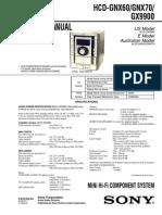 Manual Hcd Gnx60