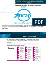 Organizacion y Administracion de Pequeñas y Medianas Empresas