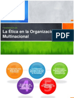La Ética en La Organización Multinacional