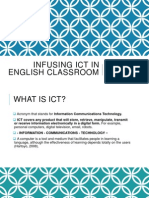 Infusing Ict in English Classroom