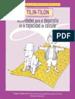 Tilin_Tilon. Actividades Para El Desarrollo de La Capacidad de Calcular ( Libro )