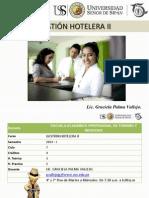 Clase i Gestion Hotelera II