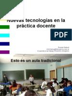 Nuevas Tecnologías en La Práctica Docente