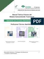 Operacion de Circuitos Electronicos Digitales