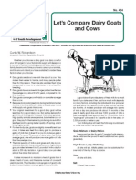 670 Comparing Dairy Goats to Cows