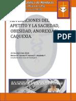 Revision Sistematica OBESIDAD 1 Periodo 2014