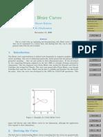 Cubic Bezier Curves