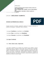CURSO BASICO DE ASTROLOGIA lECCION 1