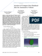 Design and Fabrication of Compact Size Fluidized Bed Gasifier for Automotive Vehicle