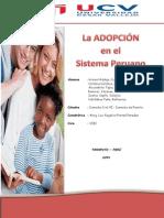 La Adopción en El Sistema Peruano