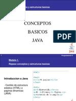 Presentacion de Repaso - Java Basico