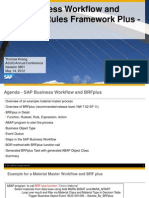 0801 SAP Business Workflow and Business Rules Framework Plus BRFPlus