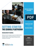 EduRole - Getting Started
