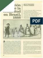 Brasil Abolición de La Esclavitud