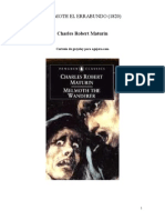 Maturin Charles - Melmoth El Errabundo