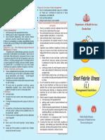 Short Febrile Illness Kerala Guideline