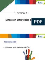 Sesión 1 Dirección Estratégica de RRHH