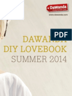 DIY DaWanda Lovebook Summer 2014 (english version)