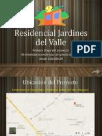 Residencial Jardines Del Valle_Presentación Mayo 2014