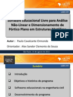 09 Software Educacional Livre Para Analise e Dimensionamento de Porticos Planos Em Estruturas Metalicas