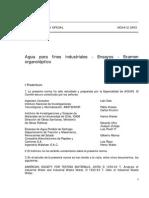 NCh0412-63 Agua Ind- E.organolepticos