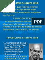 4-Metabolismo do Grupo Heme