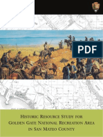 Historic Resource Study for the Golden Gate National Recreation Area in San Mateo County (2010)