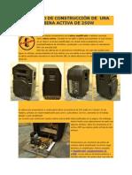 PROYECTO DE CONSTRUCCIÓN DE  UNA CABINA ACTIVA DE 250W.doc