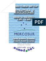 Mercosur Estructura y Resoluciones 1