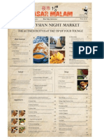 Pasar Malam Menu
