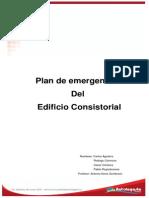 Plan de Emergencia Del Edificio Consistorial