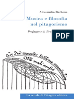 Musica E Filosofia Nel Pitagorismo 9788865420843 476138