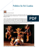 Dynastic Politics in Sri Lanka